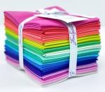 Free Spirit - Tula Pink Solids Fat Quarter Bundle 22 pcs