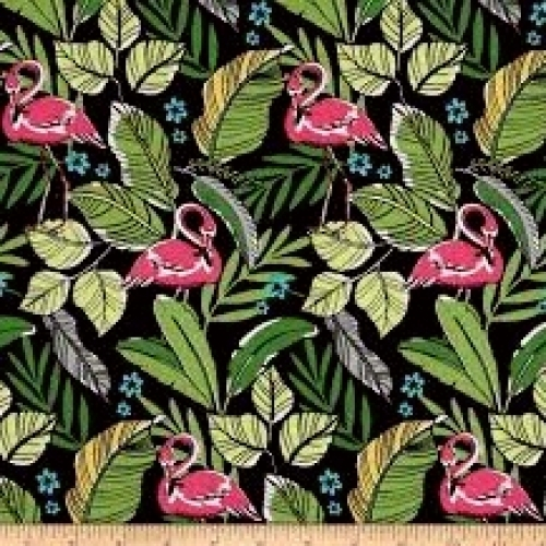 MICHAEL MILLER - Flamingos In Paradise - CX7317-BLAC-D