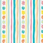 FREE SPIRIT - Daisy Stripe - PWDW137.AQUA