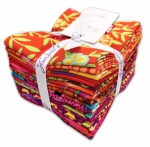 Free Spirit - Kaffe Fassett Collective - Heatwave Fat Quarter Bundle 20 pcs