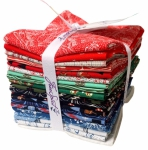 Free Spirit - Fab Holiday Fat Quarter Bundle - 20 Pieces