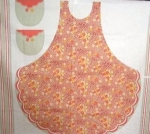 FABRI-QUILT, INC - Antique Treasures Apron - PANEL - 120A98611 - PL55