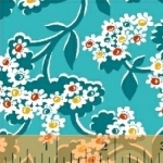BAUM TEXTILES - Mimosa - Bursting Flowers - 39988-4