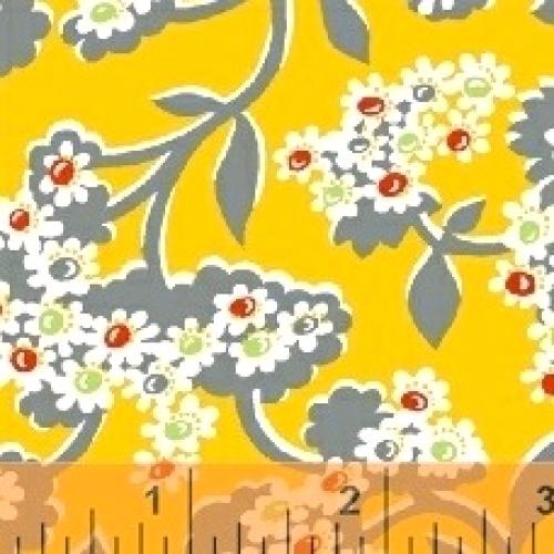 BAUM TEXTILES - Mimosa - Bursting Flowers - 39988-2