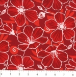 FABRI-QUILT, INC - Accent On Color Poppy - Red - 11230993
