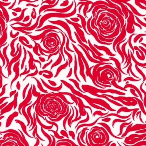 FABRI-QUILT, INC - Accent On Color Roses - Red - 11231003