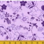 FABRI-QUILT, INC - Accent on Color Dainty Flower - Purple - 11230972