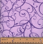 FABRI-QUILT, INC - Accent On Color Swirls - Purple - 11231022