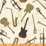WINDHAM FABRICS - Type Band - 41964-2
