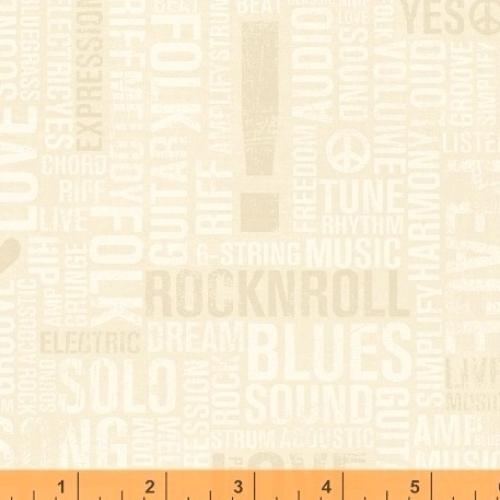 WINDHAM FABRICS - Type Band - 41968-2