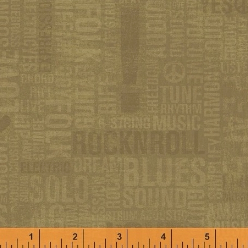 WINDHAM FABRICS - Type Band - 41968-4