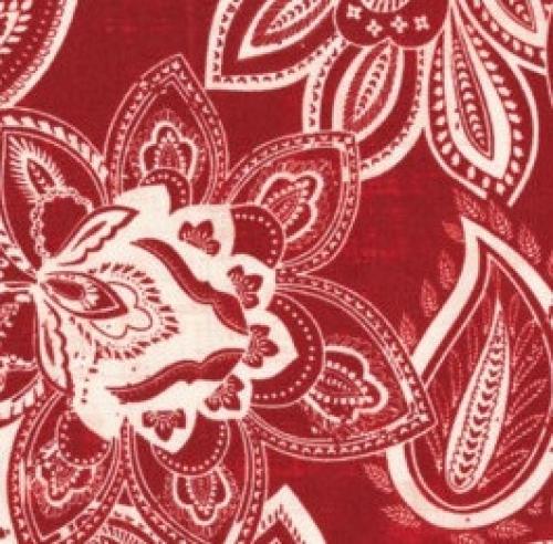FABRI-QUILT, INC - Bella Casa Jacquard - Red - 11227952
