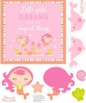 RILEY BLAKE - Under the Sea - Pink - P5967-PINK - PANEL