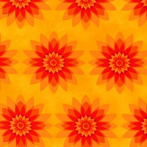 PAINTBRUSH STUDIO - Calypso Floral Starburst - 1204211
