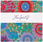 Free Spirit - Kaffe Fassett - Classics Ocean 10 inch Charm 42 pcs