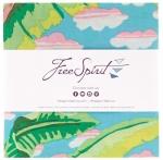 Free Spirit - Kaffe Fassett February 2021 - Cool 5 inch Charm Pack 42 pcs