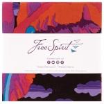 Free Spirit - Kaffe Fassett February 2021 - Hot 5 inch Charm Pack 42 pcs