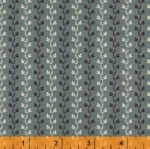 WINDHAM FABRICS - Sophia Stripe Teal - 40820-5