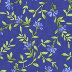 KAUFMAN - Pretty Sweet - Flowerhouse Blue
