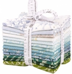 Kaufman - Winter Shimmer Sky Colorstory Fat Quarter Bundle 13 pcs