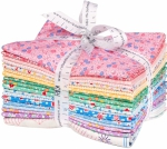 Kaufman - Southern Belles Multi Colorstory Fat Quarter Bundle 18 pcs