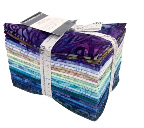 Kaufman - Artisan Batiks: Fancy Feathers Fat Quarter Bundle 25 pcs