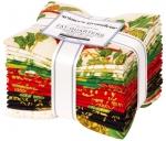 Kaufman - Winters Grandeur: Holiday Fat Quarter Bundle 17 pcs
