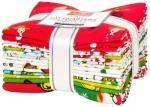 Kaufman - How The Grinch Stole Christmas Fat Quarter Bundle 15pcs