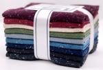 Kaufman - Shetland Flannel Speckle Fat Quarter Bundle 9 pcs
