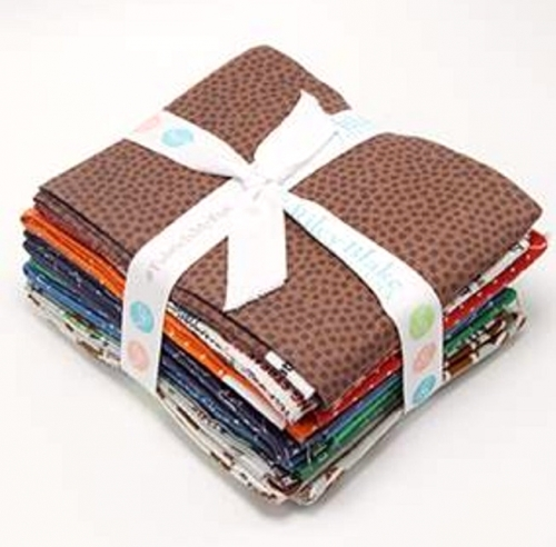 Riley Blake - Varsity Football Fat Quarter Bundle 15pcs