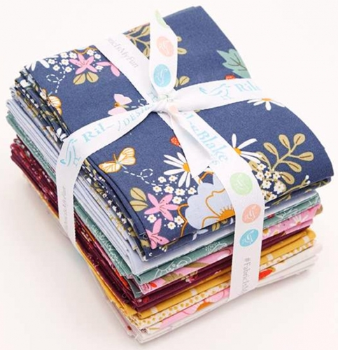 Riley Blake - Wild Bouquet Fat Quarter Bundle 21pcs