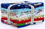 Maywood Studio - Red, White & Bloom Fat Quarter Bundle by KimberBell