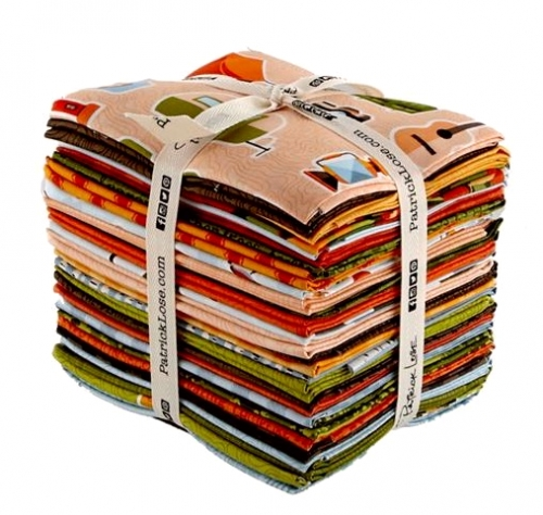 Patrick Lose - Let's Go Camping Fat Quarter Bundle 28pcs