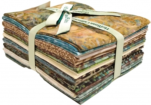 Hoffman Fat Quarter Bundle Sandpiper  16 pcs