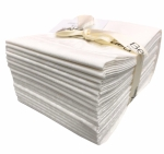 Benartex - Better Basics White Fat Quarter Bundle 20 pcs