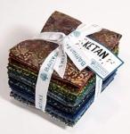 Northcott - Ketan - Shades of Dark Fat Quarter Bundle by Banyan Batiks