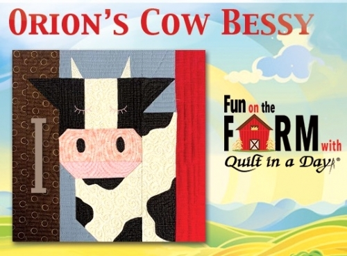 Free Bessy the Cow Block Pattern Download - Fun on the Farm