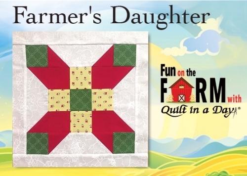 Free Farmers Daughter Block Pattern Download - Fun on the
