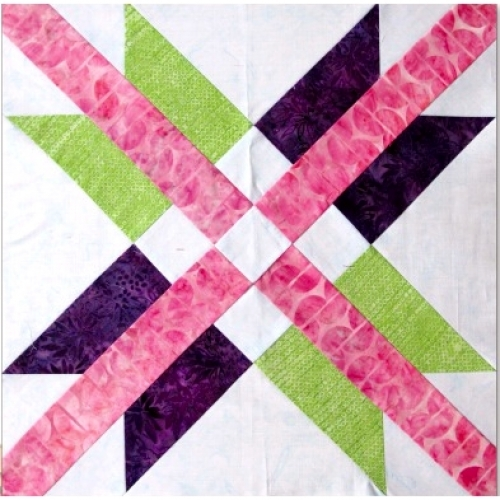 Free Mexican Star Pattern Download- Quilt in a Day Free Patterns