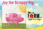 Free Joy the Pig Block Pattern Download Link Below - Fun on the Farm