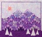 Free Purple Mountains Pattern Download