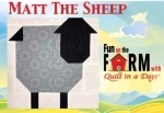 Free Sheep Block Pattern Download - Fun on the Farm