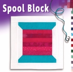 Free Spool Block Pattern Download - Sew Many Notions