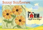 Free Sunny Sunflowers Block Pattern Download - Fun on the Farm