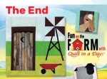 Free The End Block Pattern Download - Fun on the Farm