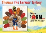 Free Thomas the Turkey Pattern Download - Fun on the Farm Bonus Block