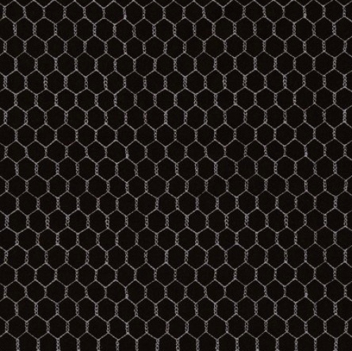 TIMELESS TREASURES - Geometric/Abstract Coordinates - Mini Chicken Wire - Black