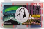 Aurifil - Colors of Iceland Thread Collection by Erla Gudrun 50wt 12 Large Spools