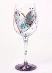Designs by Lolita Wine Glass - Silver Lining
