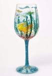 Designs by Lolita Wine Glass - In My Own World